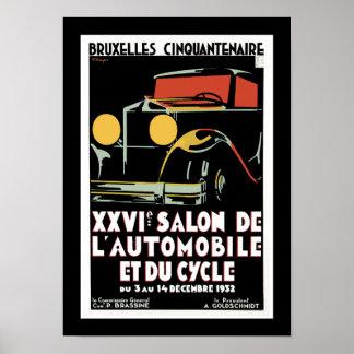 Brussel Cinquantenaire Poster