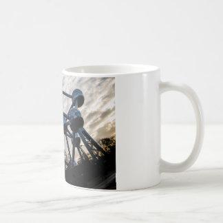 Bruxelles photo mug blanc