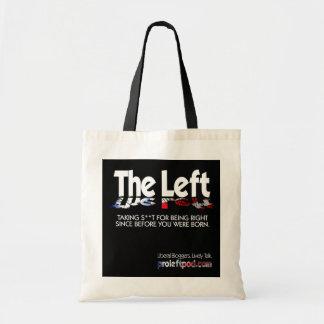 Budget Fourre-tout - la gauche, définie… Tote Bag