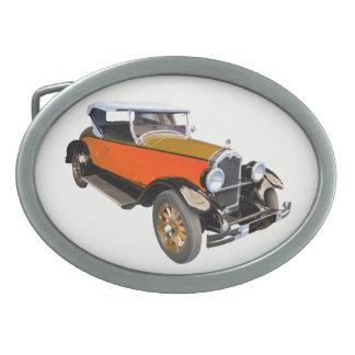 Buick américain classique boucles de ceinture ovales