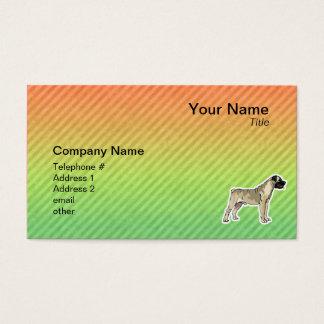 Bullmastiff Cartes De Visite