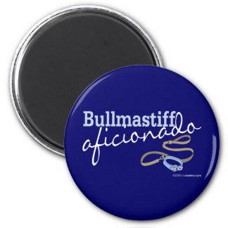 Bullmastiff Magnet Rond 8 Cm