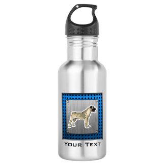 Bullmastiff ; Regard en métal de Bruhsed Bouteille D'eau