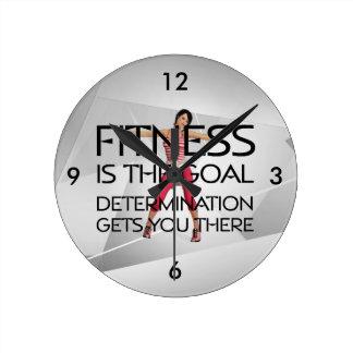 But SUPÉRIEUR de forme physique Horloge Ronde