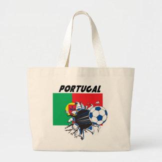Butin du football du Portugal Grand Sac