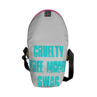 Butin modèle libre de cruauté de sac messenger sacoche