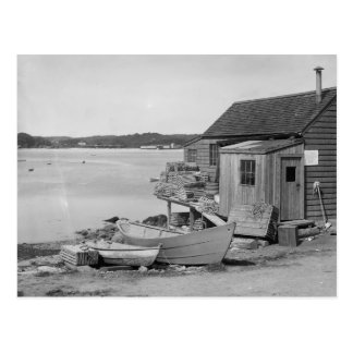 Cabin du pêcheur, 1900 carte postale