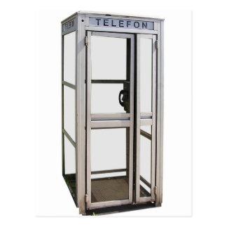 Cabine de téléphone carte postale