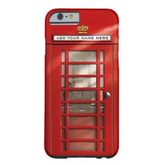 Cabine téléphonique rouge britannique coque barely there iPhone 6