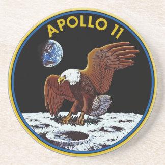 Caboteur d'alunissage d'Apollo 11 Dessous De Verre En Grès