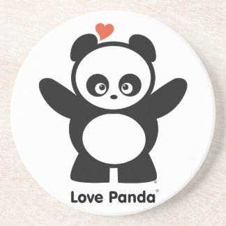 Caboteur de Panda® d'amour Dessous De Verres