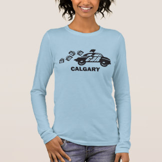 Cachette de Calgary et T-shirt de libération
