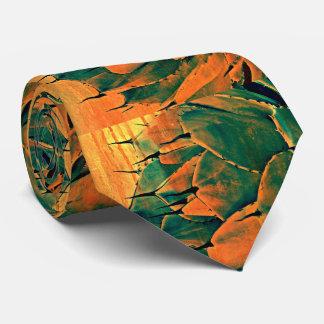 Cactus de Sonoran dans la cravate des hommes