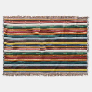 CADEAU abstrait de textures de rayures COLORÉES Couverture