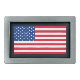 Cadeau de boucle de ceinture du drapeau américain