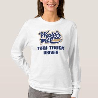Cadeau de conducteur de dépanneuse (mondes t-shirt