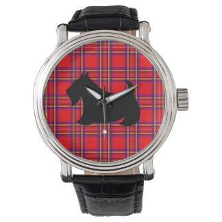 Cadeau de la montre des hommes de chien de Terrier