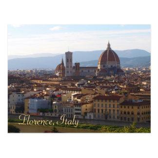 Cadeau de souvenir de voyage de Florence Italie Carte Postale