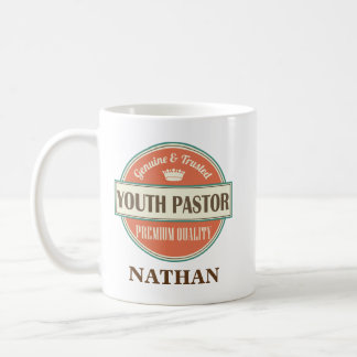 Cadeau de tasse de bureau personnalisé par pasteur