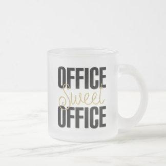 Cadeau de tasse givré par bureau doux de bureau