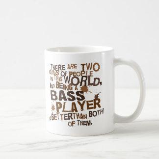 Cadeau (drôle) de bassiste mug blanc