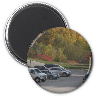 CADEAU du modèle do-it-yourself d'arbres de vert Magnet Rond 8 Cm