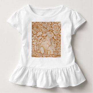 Cadeau élégant de lapin du T-shirt de la fille