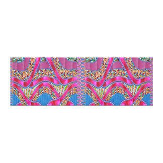 Cadeau graphique de spectre de rubans de bijoux de toile