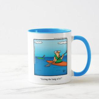 Cadeau Kayaking drôle de tasse d'humour