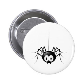 Cadeau mignon de Halloween d'araignée noire Badge Rond 5 Cm