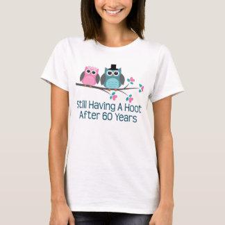 Cadeau pour la soixantième huée d'anniversaire de t-shirt
