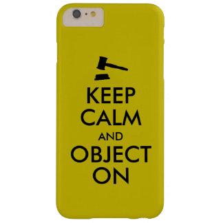 Cadeau pour l'étudiant en droit ou le prof. de coque iPhone 6 plus barely there
