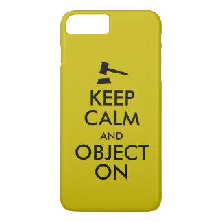 Cadeau pour l'étudiant en droit ou le prof. de coque iPhone 7 plus