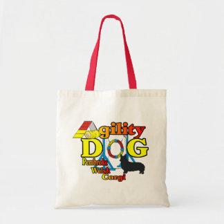 Cadeaux de chemises d'agilité de corgi de Gallois Tote Bag