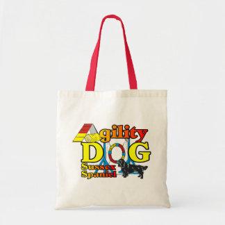 Cadeaux de chemises d'agilité d'épagneul de Sussex Tote Bag