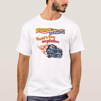 Cadeaux de fête des pères de beau-père d'emballage t-shirt