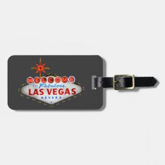 Cadeaux de Las Vegas Étiquette Pour Bagages