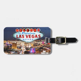 Cadeaux de Las Vegas Étiquettes Bagages