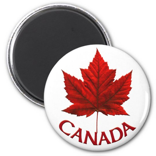 Cadeaux de magnet du Canada d'aimant de Magnet Rond 8 Cm