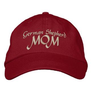 Cadeaux de maman de berger allemand casquette brodée