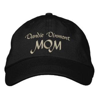 Cadeaux de maman de Dandie Dinmont Terrier Casquette Brodée