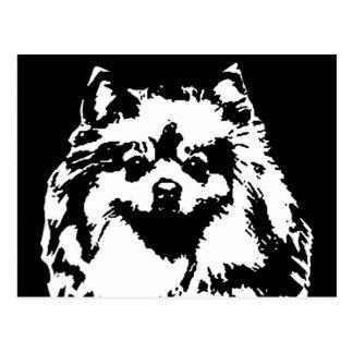 Cadeaux de Pomeranian - carte postale