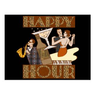 Cadeaux de T-shirts de bière d'heure heureuse Carte Postale