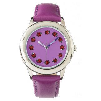 Cadeaux d'insecte de montre-bracelet de la montres cadran