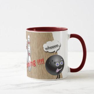 Cadeaux faits sur commande de tasse de bowling