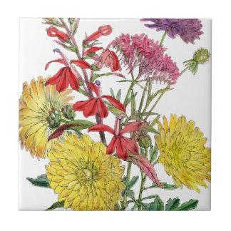 Cadeaux floraux de fête de Sring Carreau