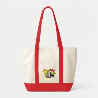 Cadeaux Fourre-tout de Malinois de Belge d'agilité Tote Bag