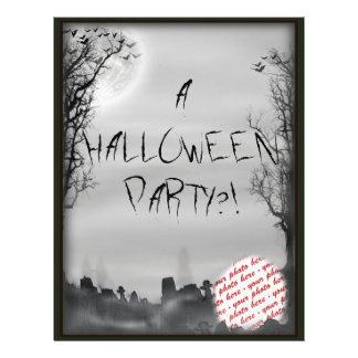 Cadre de photo de scène de Halloween