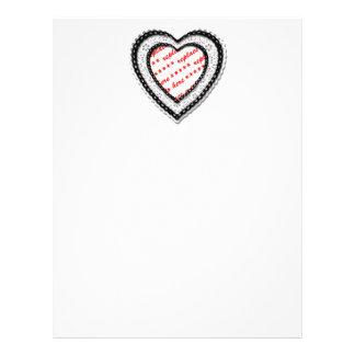 Cadre en forme de coeur lacé de photo prospectus