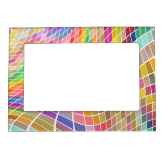 Cadre magnétique de conception abstraite